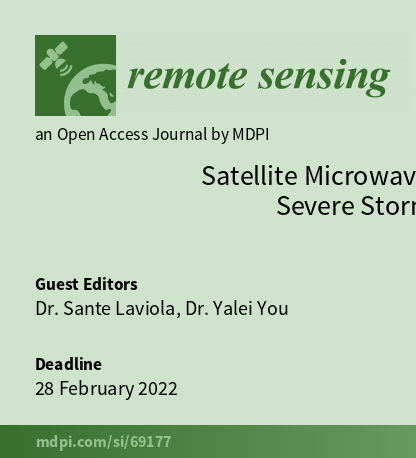 The cover of the special issue of Remote Sensing
