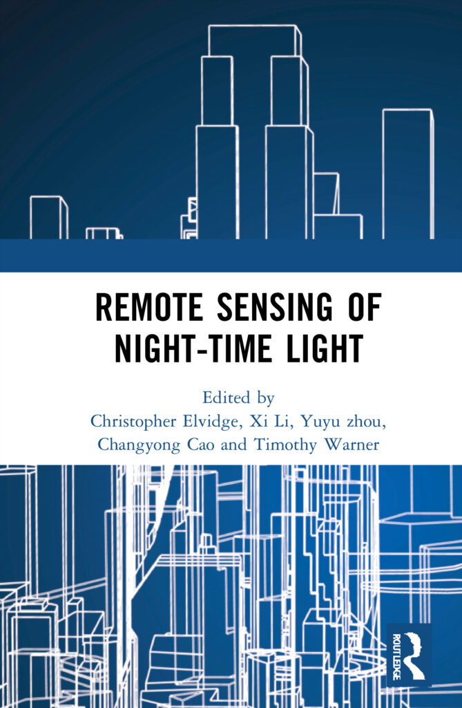 The book cover, which depicts a blue cityscape and the title,