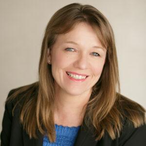 A portrait photo of Susan Vanden Heever